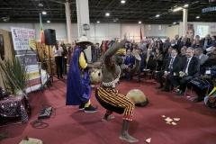 Afrika expó megnyitó ünnepsége
