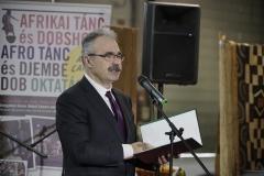 Nagy Istvána Földművelésügyi Minisztérium (FM) parlamenti államtitkára az Afrika expó megnyitó ünnepségén