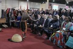 Nagy Istvána Földművelésügyi Minisztérium (FM) parlamenti államtitkára az Afrika expó megnyitó ünnepség - Déli Nyitás