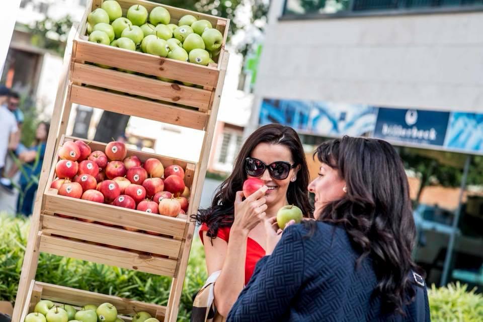 őszi almafogyasztást ösztönző kampány