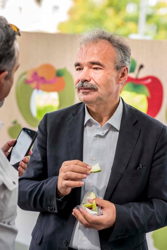 őszi almafogyasztást ösztönző kampány - Nagy István agrárminiszter