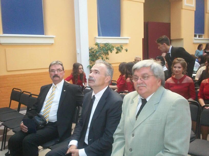 Szalagavató ünnepség a Beregszászi Bethlen Gábor gimnáziumban - dr. Nagy István miniszter