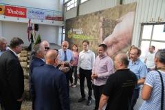 bjelovári őszi nemzetközi vásár - Nagy István miniszter - találkozó