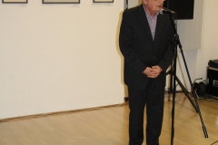 Dr. Nagy István parlamenti államtitkár - Siklósiné B. Judit gobelin kiállítás megnyitó Mosonmagyaróváron