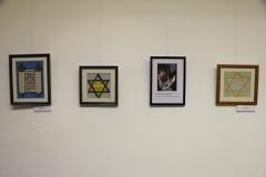 Siklósiné B. Judit gobelin kiállítás megnyitó Mosonmagyaróváron 3