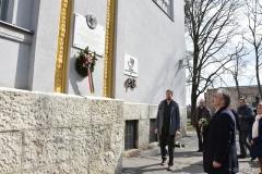 Dr. Nagy István dr. Sótonyi László emléktabla avatásán