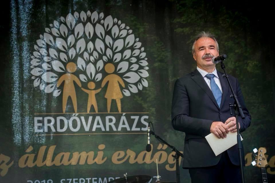 Erdővarázs Családi Nap - Nagy István agrárminiszter