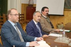 Nagy István FM államtitkár Amnon Ben Ami-val, aKeren Kayemet LeIsrael (KKL)ügyvezetőjével