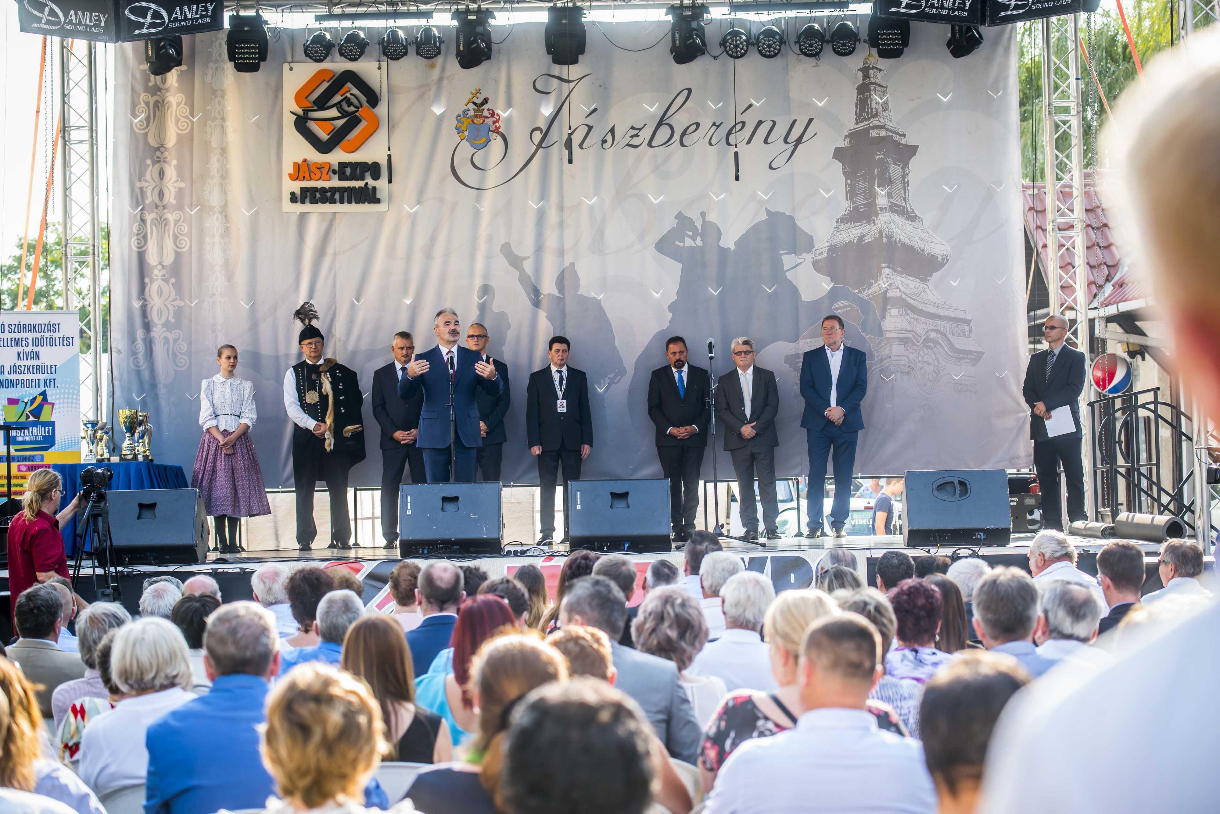 Nagy István, Jászberény, Jász expo