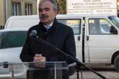 Jánossomorja kerékpárút átadó ünnepség - dr Nagy István agrárminiszter, országgyűlési képviselő