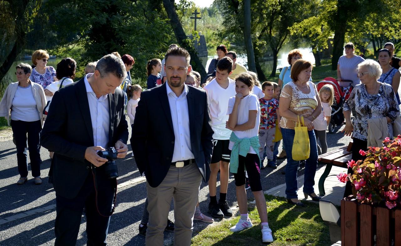 Szigetközi önkormányzatok a fenntartható energiahasználatért - Nagy István agrárminiszter, országgyűlési képviselő - Kimle (2)