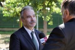 Nagy István agrárminiszter Fábiánsebestyénben interjú