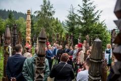 Kopjafa állítás Nyerges-tetőn - Nagy István agrárminiszter