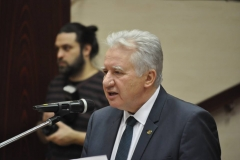Lakossági fórum Jánossomorja - Jakab István a MAGOSZ elnöke, az Országgyűlés alelnöke