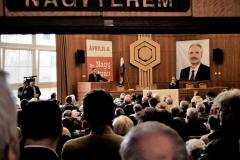 Lakossági Fórum Mosonmagyaróvár - Nagy István Fidesz-KDNP országgyűlési képviselőjelölt, Kövér László, az Országgyűlés elnöke