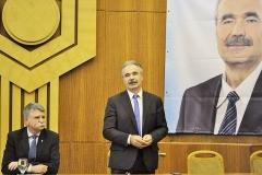 Lakossági Fórum Mosonmagyaróvár - Nagy István, Fidesz-KDNP országgyűlési képviselőjelölt, Kövér László, az Országgyűlés elnöke