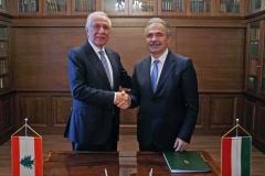 Libanoni Köztársaság agrárminiszterével - Nagy István miniszter