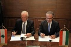 Libanoni Köztársaság agrárminiszterével - dr. Nagy István miniszter