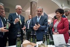 Libanoni Köztársaság agrárminiszterével, termékbemutató - Nagy István miniszter