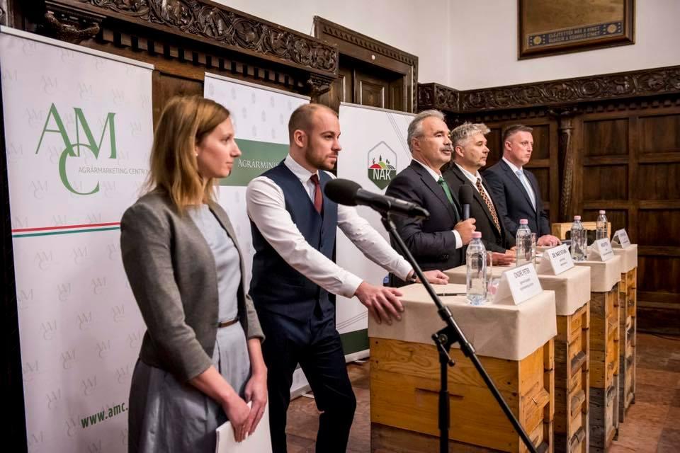 Magyar méz kampány OMME AMC - Nagy István miniszter