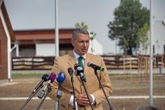 Montág-pusztai Állattartótelep komplex fejlesztése - Lázár János, a térség országgyűlési képviselője