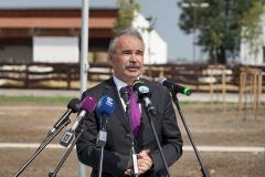 Montág-pusztai Állattartótelep komplex fejlesztése - Nagy István miniszter