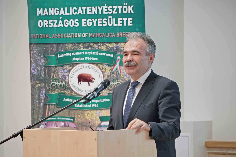 Nagy István, a Földművelésügyi Minisztériumban parlamenti államtitkára a MOE International Együttműködési Program Konferencián