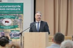 Nagy István, a Földművelésügyi Minisztériumban parlamenti államtitkára a MOE International Együttműködési Program Konferencián 2018.02.09.