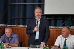 Nagy István miniszter a Magyar Szója és Fehérjenövény Egyesület rendezvényén