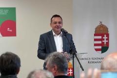 Őszköszöntő Szabolcsi Almanap - Nagy István agrárminiszter