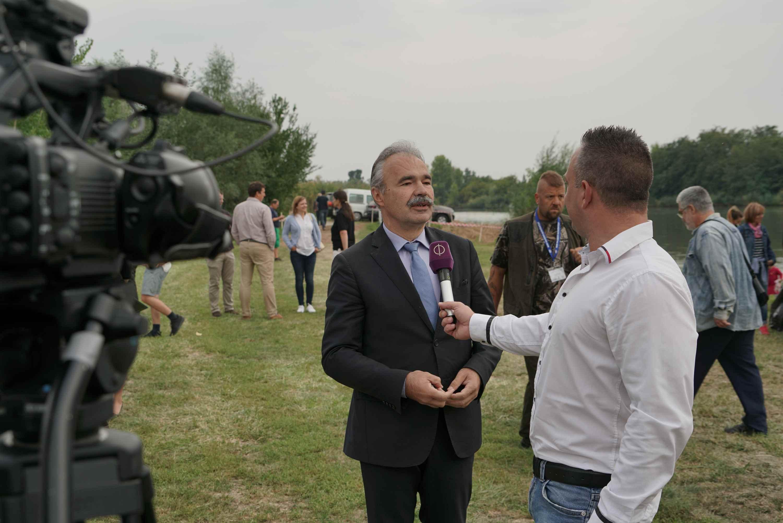 I. Agrár Horgászkupa és családi nap Szarvason - Nagy István agrárminiszter interjú
