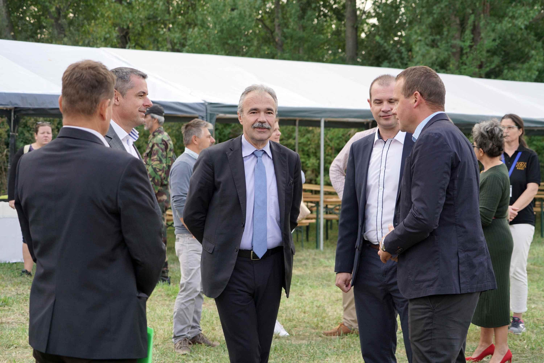 I. Agrár Horgászkupa és családi nap Szarvason - dr. Nagy István miniszter