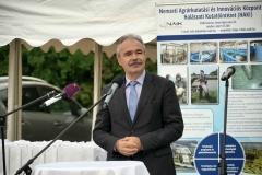 I. Agrár Horgászkupa és családi nap Szarvason - dr. Nagy István agrárminiszter
