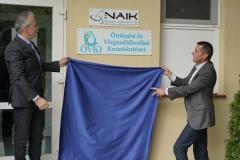 NAIK Öntözési és Vízgazdálkodási Kutatóintézet avatás -dr.  Nagy István agrárminiszter