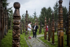 Nobilis Márton, Nyergestető, Erdély, Románia, kopjafa