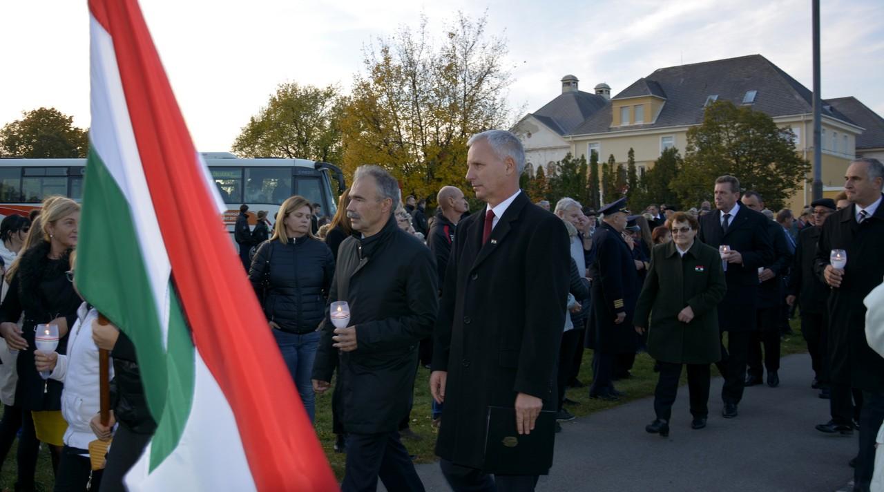 Október 26. Városi gyásznap Mosonmagyaróvár - Nagy István miniszter