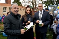 Ovi-Sport pálya átadó Mosonmagyaróváron - dr. Nagy István miniszter, országgyűlési képviselő