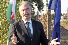 M15 útatadás Rajkán - Nagy István agrárminiszter, országgyűlési képviselő 2