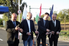 M15 útatadás Rajkán - Nagy István agrárminiszter, országgyűlési képviselő