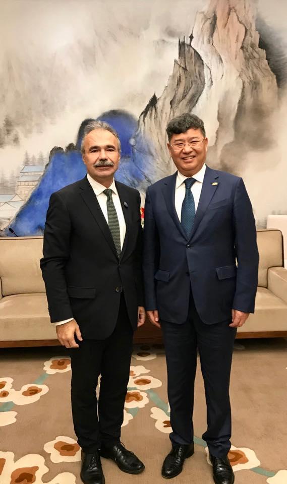 Kínai Nemzetközi Import Kiállítás - Nagy István agrártárca vezető