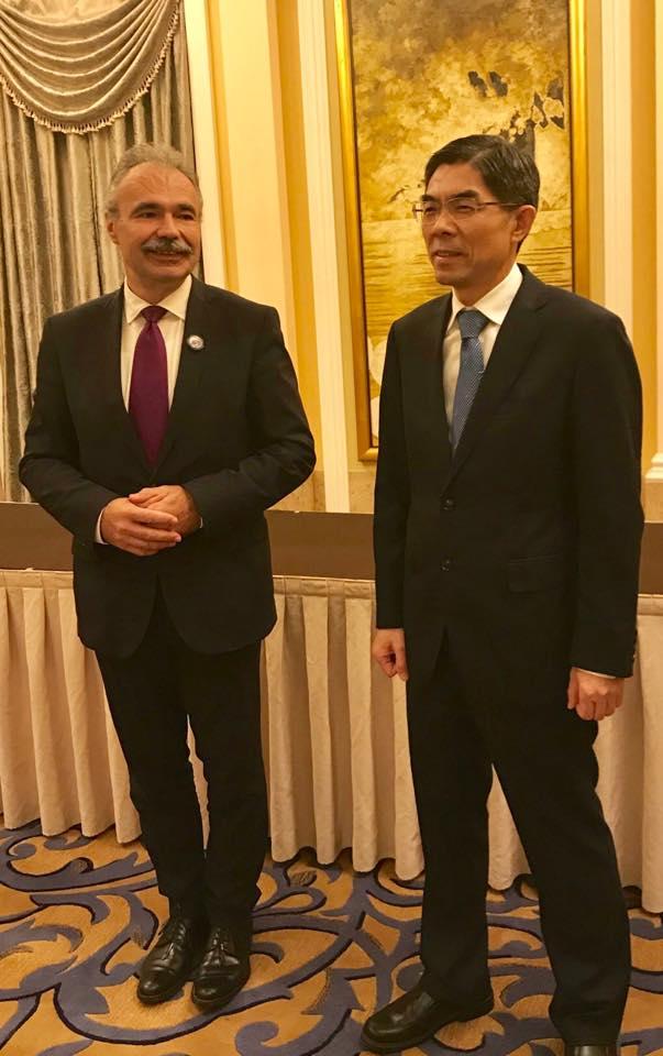 Kínai Nemzetközi Import Kiállítás - dr. Nagy István miniszter