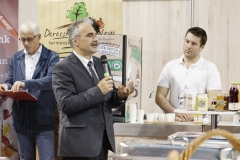 Nagy István, a Földművelésügyi Minisztérium államtitkára a Sirha Budapest nemzetközi élelmiszeripari és HoReCa szakkiállítás megnyitóján