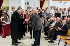 Soproni Egyetem tanévnyitó ünnepség - Nagy István agrárminiszter - tiszteletdiplomások