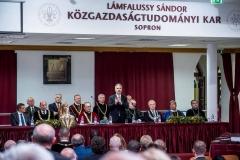 Soproni Egyetem tanévnyitó ünnepség - Nagy István agrárminiszter
