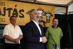 Szigetközi Gulyahajtás 2018 -  Nagy István agrár- és vidékfejlesztési miniszter