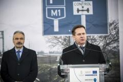 M1 tengelysúlymérő állomás átadása - Széles Sándor, Győr-Moson-Sopron megye kormánymegbízottja