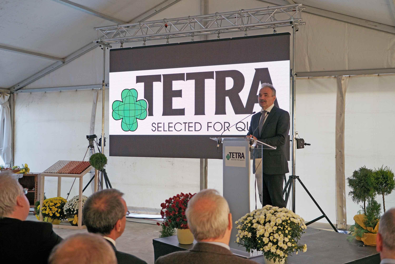 Bábolna TETRA Kft. genetikai kutatóbázisának átadója - Nagy István miniszter