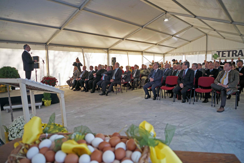 Bábolna TETRA Kft. genetikai kutatóbázisának átadója - dr. Nagy István agrárminiszter