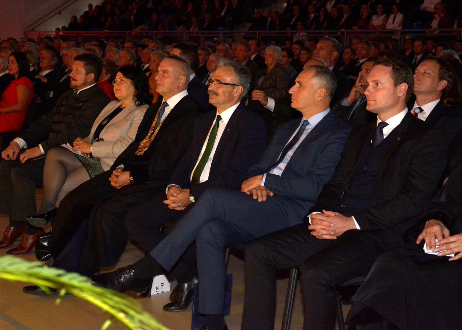 kétszáz éves jubileumi agrár-felsőoktatási ünnepség, Mosonmagyaróvár Nagy István miniszterrel