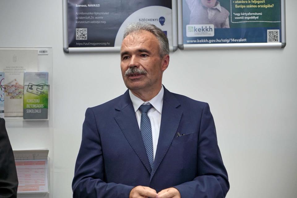 Nagy István miniszter, ogy képviselő Jánossomorján